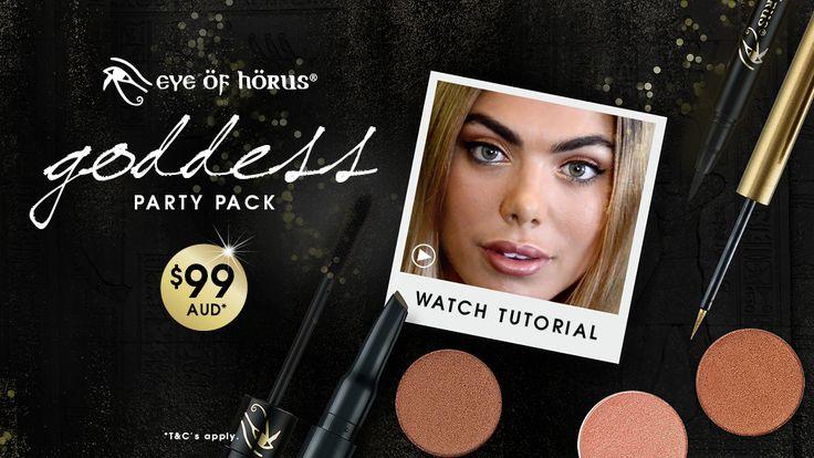 Watch & Shop: Eye of Horus goddess eyes tutorial - Blogs | PRIMPED