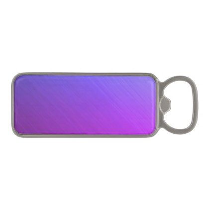 Miami Shine Magnetic Bottle Opener - brushed metal gifts cool unique special gift idea