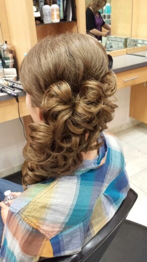 Marvelous 1000 Images About Prom Hair On Pinterest Curly Prom Hairstyles Hairstyles For Men Maxibearus