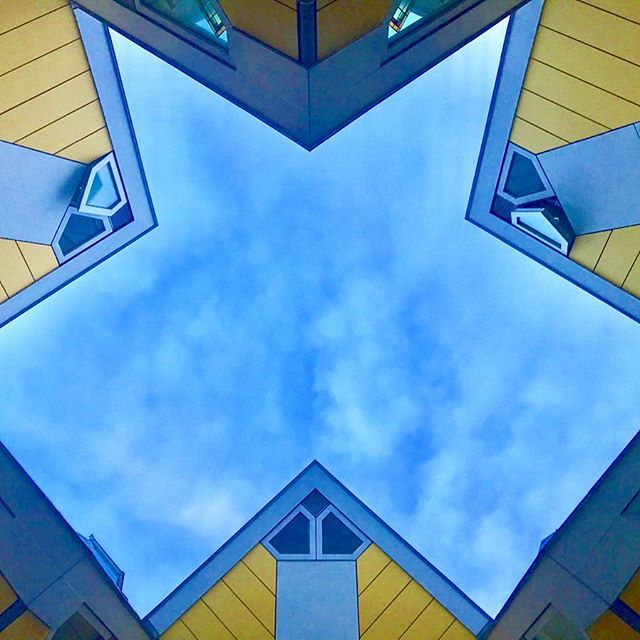 The famous cube houses in Rotterdam.  #uwn_holland  #super_holland  #wonderful_holland  #instanetherlands  #holland_photolovers  #dutch_connextion  #ig_discover_holland  #rottergram #rotterdam  #gurushots  #europe_ig  #global_hotshotz  #allbeauty_addiction  #eclectic_shotz  #heart_imprint  #gottolove_this  #worldbestgram  #fotocatchers  #rsa_light_  #sky_sultans  #sky_perfection #world_bestsky #sky_brilliance  #thebest_capture  #tv_buildings #rsa_streetview_ #streets_vision #kings_villages
