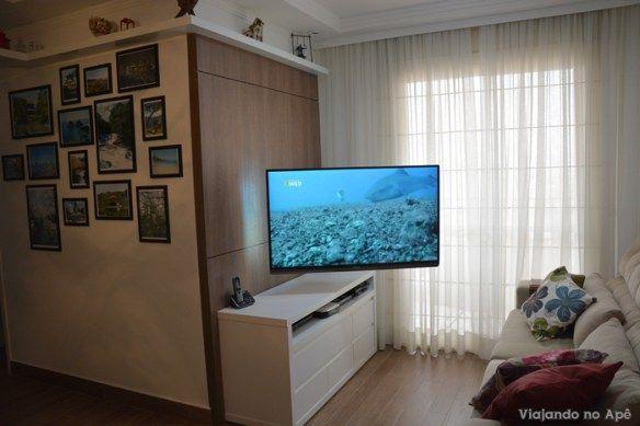 suporte articulado TV painel 2