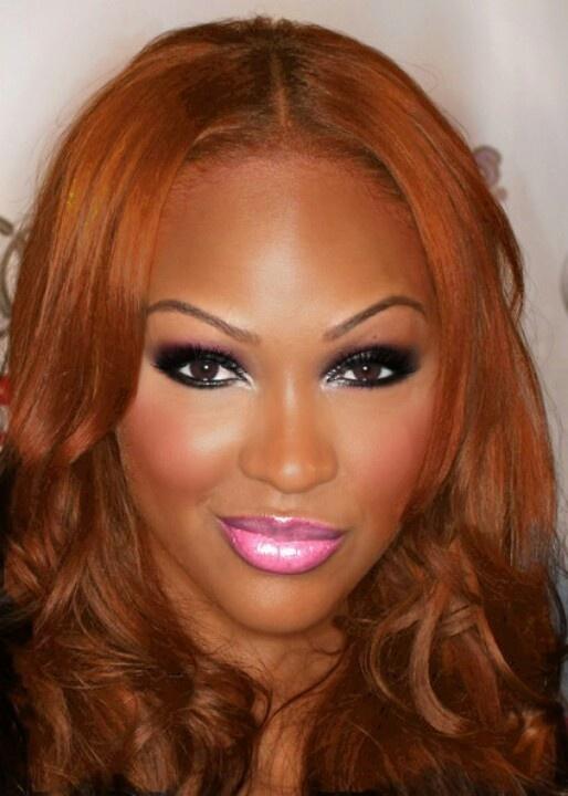 Meagan Good-Barbie makeup   MakeUp The Face/Black Beauty ...