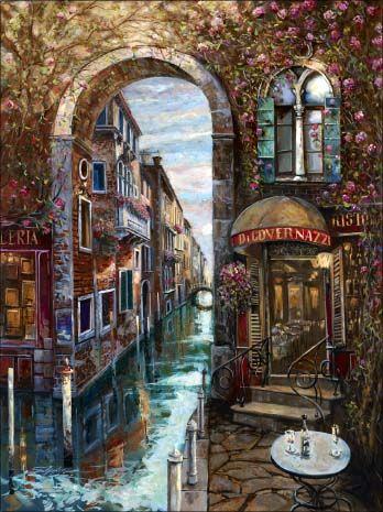 """Venetian Twilight""  by Vadik Suljakov"