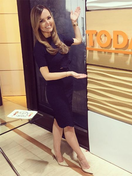 Nicole Lapin on the TODAY show March 6, 2017, wearing an Alexander McQueen top https://api.shopstyle.com/action/apiVisitRetailer?id=603266608&pid=uid7729-3100527-84, a matching skirt https://api.shopstyle.com/action/apiVisitRetailer?id=529986848&pid=uid7729-3100527-84 and Jimmy Choo shoes https://api.shopstyle.com/action/apiVisitRetailer?id=490981054&pid=uid7729-3100527-84. #style #celebstyle #alexandermcqueen #jimmychoo #tv #todayshow #instagram