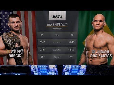 UFC 220 Free Fight: Stipe Miocic vs Junior Dos Santos 2