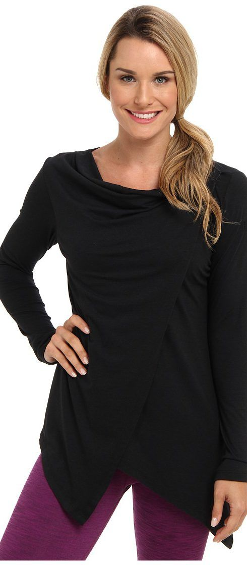FIG Clothing Pailin Top (Black) Women's Long Sleeve Pullover - FIG Clothing, Pailin Top, PAI10186-0001, Apparel Top Long Sleeve Pullover, Long Sleeve Pullover, Top, Apparel, Clothes Clothing, Gift, - Fashion Ideas To Inspire