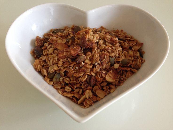 Orange Muesli Crunch. My favourite of all the breakfast recipes on my blog. I hope you enjoy it! x