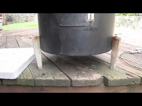 YouTube Brinkman Smoker Grill mod