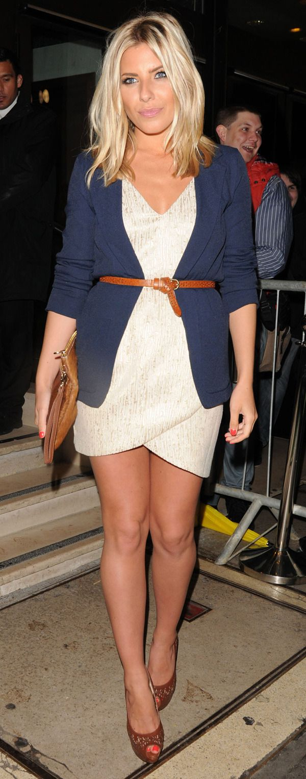 Mollie King - love her hair this length