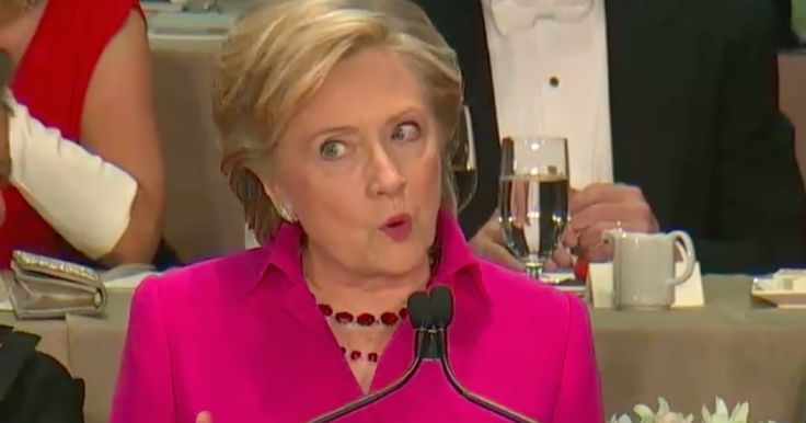 All the Best Burns From Hillary Clinton's Legendary Al Smith Dinner Roast of Donald Trump