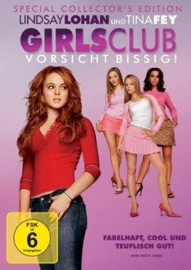 Girls Club Vorsicht bissig  2004 USA,Canada      IMDB Rating 6,9 (116.885)  Darsteller: Lindsay Lohan, Rachel McAdams, Tina Fey, Tim Meadows, Amy Poehler,  Genre: Comedy,  FSK: 12
