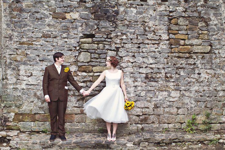 Alternative quirky wedding photography in Derbyshire by Hannah Millard | Hannah Millard