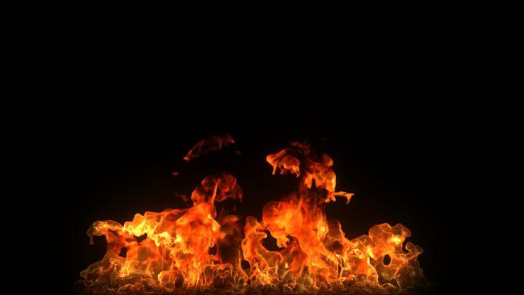 Trabajo Personal - Simulación de llamas - Autodesk Maya