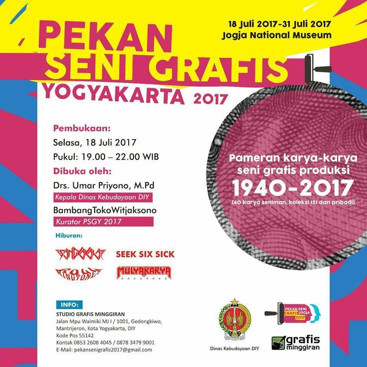 Pekan Seni Grafis Yogyakarta 2017 Di Jogja Nasional Museum