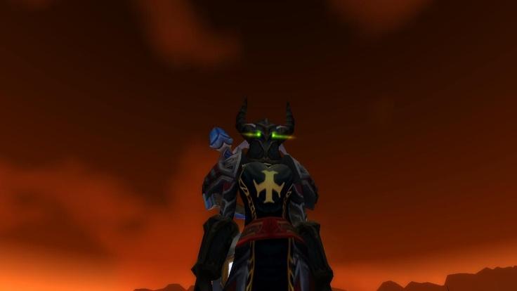 My main World of Warcraft character, Llellwyn of Khaz Modan.