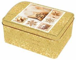 Plechová truhlička s vánočním motivem malá č. 20/213503 BOX1