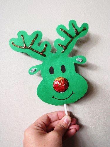 C mo hacer un reno de navidad realizando manualidades para - Manualidades ninos navidad ...