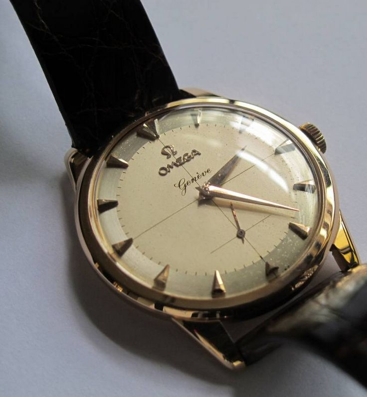 Vintage OMEGA Geneve Hand-Wound Dress Watch Circa 1950s ...