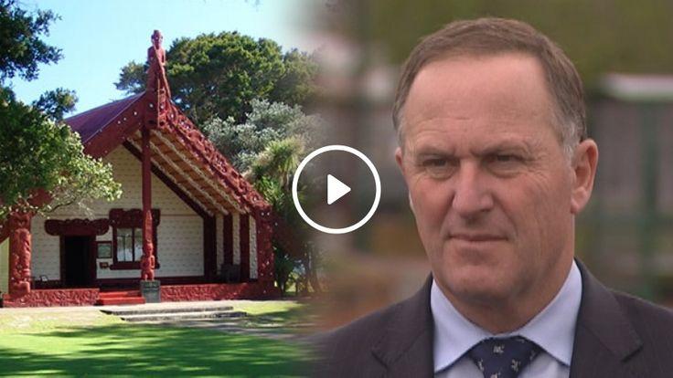 John Key hopeful of a 'sensible solution' upon returning to Waitangi - TVNZ
