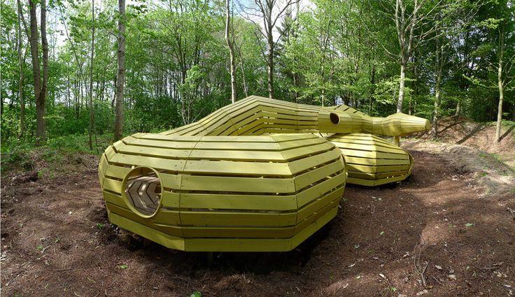 Snake playground, designed by MONSTRUM, Denmark.