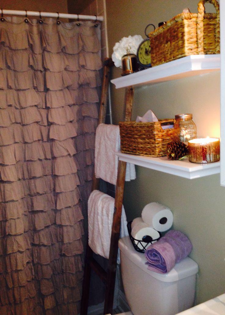 25 best ideas about ruffle shower curtains on pinterest girl bathroom ideas guest bathroom. Black Bedroom Furniture Sets. Home Design Ideas