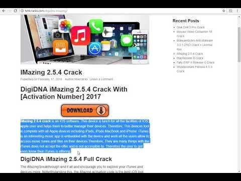 DigiDNA iMazing 2 5 4 Crack With [Activation Number] 2017