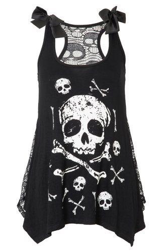 Jawbreaker Skull & Crossbones Top