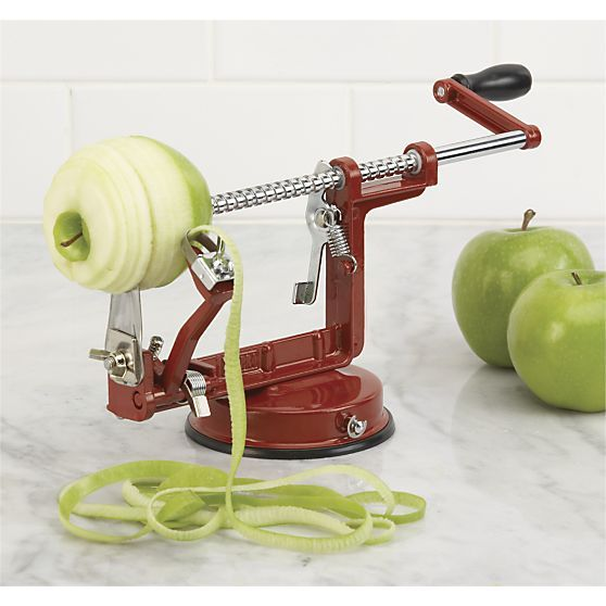 Apple Peeler and Corer in New Kitchen & Food | Crate and Barrel