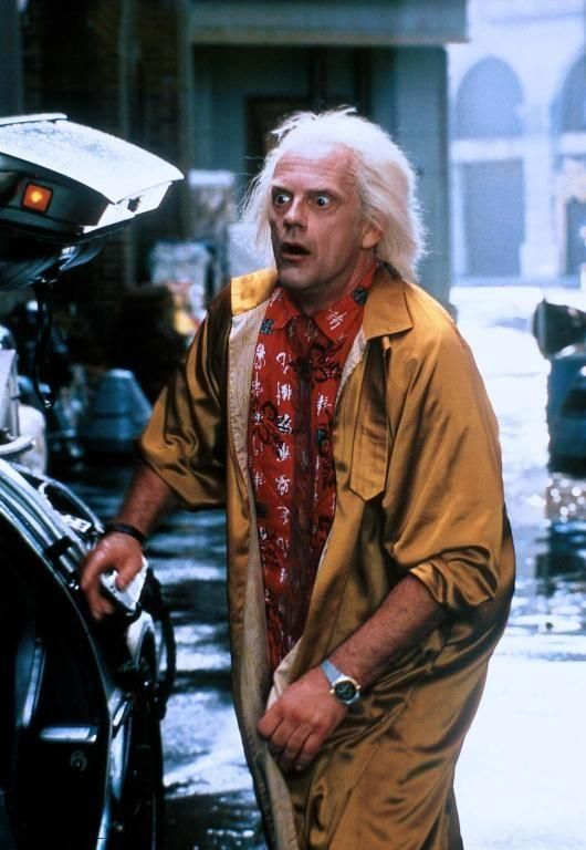 Back to the Future Image: Doc BRown