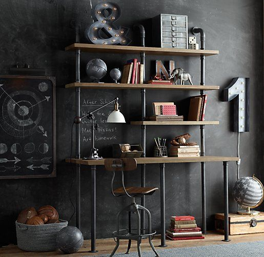 #Inspiration #wall #desk: