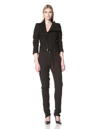 -25,350% OFF Ann Demeulemeester Women's Amy Wool Jacket (Black)