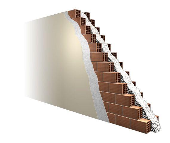 Isolamento pareti casa con insufflaggio intercapedini - Isover Ristrutturazione