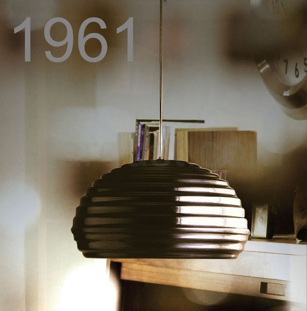Splugen Brau lamp, by Achille and Pier Giacomo Castiglioni for Flos, 1961.