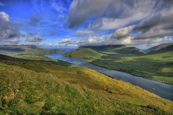 Killary Fjord View by John Quinn. Love this part of Ireland