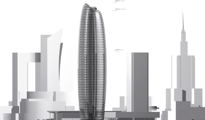 WARSAW | Lilium Tower | 843 feet | 71 floors - Zaha Hadid