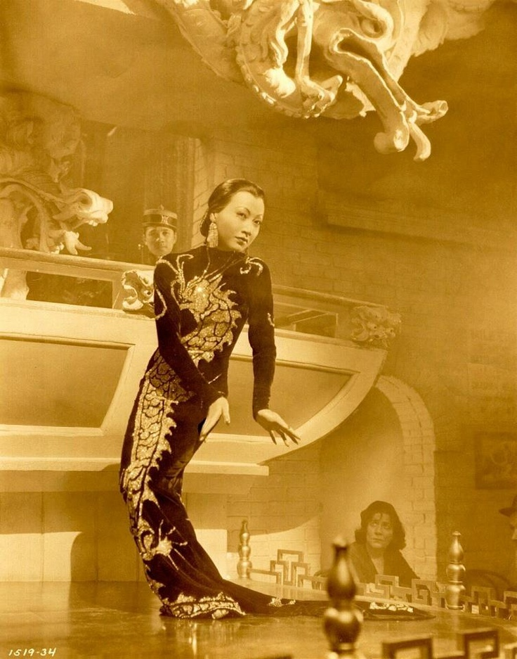 19 best images about Dragon dress Travis Banton, 1934. on ...