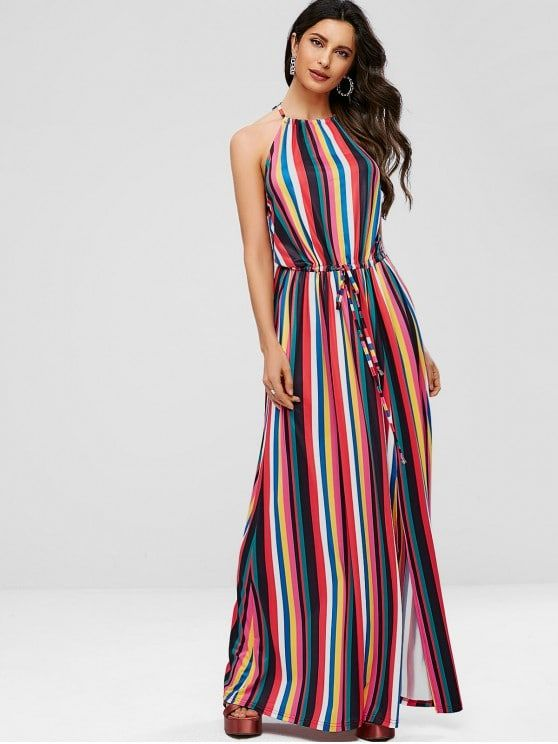 eb6438e892e590 Whether you like bright colors or the dull ones, the summer season requires  a subtle look in your dressing to make you look more elegan… | Maxi Dresses  in ...