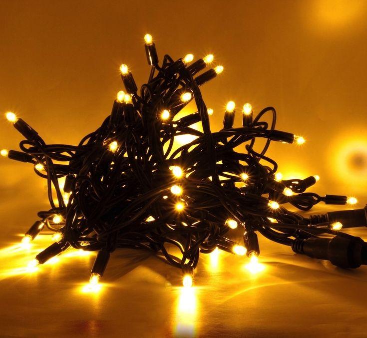 LED svetelná reťaz - 20m, teplá biela, 120 diód