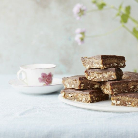 Deliciously Ella's Chocolate Caramel Slices - Woman And Home
