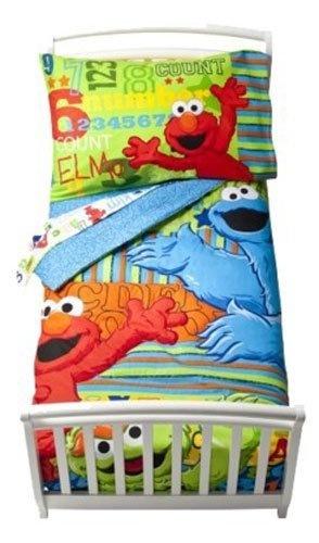 Sesame Street ABC 123 4-pc Toddler Bedding Set by Sesame Street, http://www.amazon.com/dp/B004HDBTM4/ref=cm_sw_r_pi_dp_C5GMpb16PZM6Q