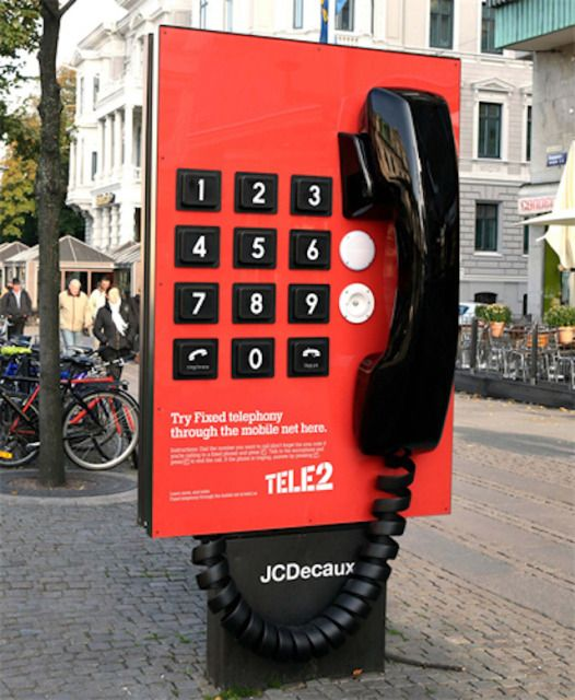 Large-scale street marketing campaign, sure to grab attention #advertising #marketing