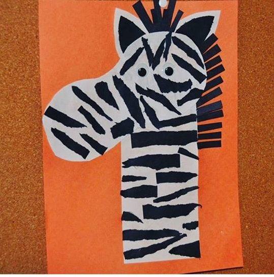 11 best Zebra craft ideas images on Pinterest   Zebra ...