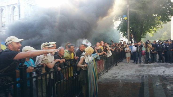 W Kijowie wybuchły zamieszki #Ukraina #kryzys