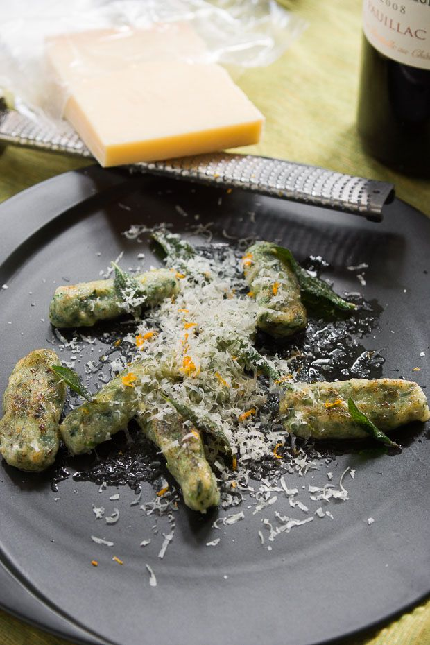 Malfatti are rich, tender dumplings made from ricotta, spinach and Parmigiano-Reggiano. Serve them with browned butter or in a savory tomato sugo.