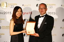 Monaco Red Cross Prize -  Mrs Aya Matsunaga (Producer) & Kimio Hara (Producer) - DramaW Special Storytelling of Hostages - Japan