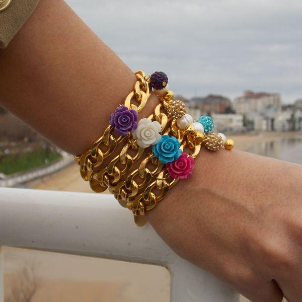 #Pulsera Gold&Pearls #ByNeskaPolita #newcollection #spring #summer