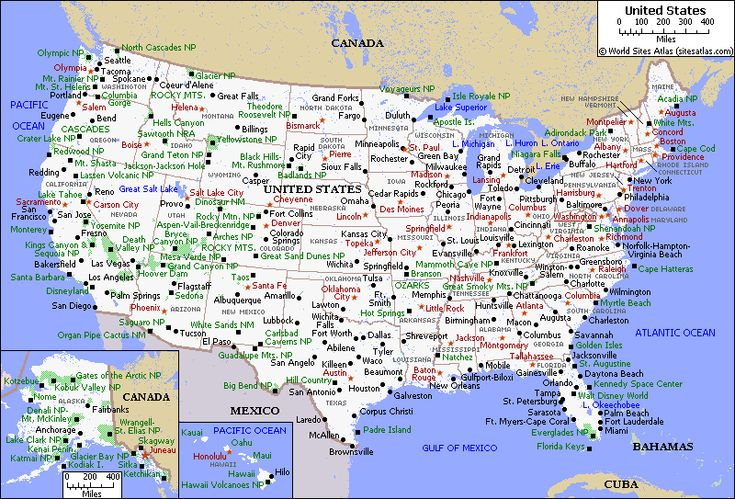 Mapoftheunitedstatesprintable Printable Map Of USA Places - Blank us map with cities