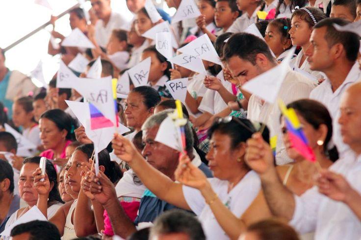 @DrodriguezVen : RT @evoespueblo: Valoramos los esfuerzos del Gob. de Colombia @JuanManSantos y las FARC por el acuerdo de cese de fuego definitivo. #ElÚltimoDíaDeLaGuerra