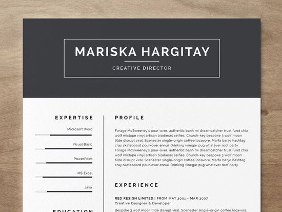 49 Best Resume Design Ideas Images On Pinterest | Resume Design
