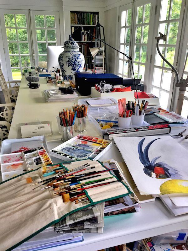 Carolyne Roehm studio at Weatherstone